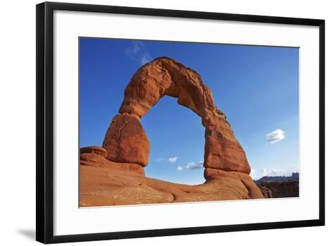 Utah, Arches National Park, Delicate Arch, 65 Ft. 20 M Tall Iconic Landmark-David Wall-Framed Art Print