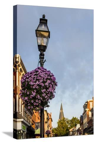 Colonial Architecture in Historic Annapolis, Maryland-Jerry Ginsberg-Stretched Canvas Print