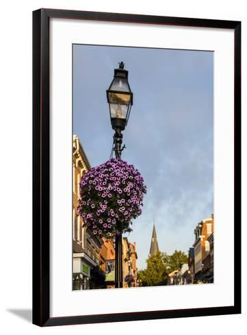 Colonial Architecture in Historic Annapolis, Maryland-Jerry Ginsberg-Framed Art Print