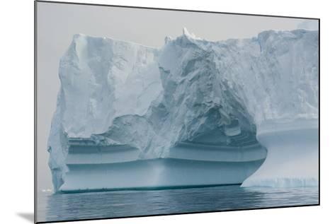 Antarctica. Charlotte Bay. Iceberg-Inger Hogstrom-Mounted Photographic Print