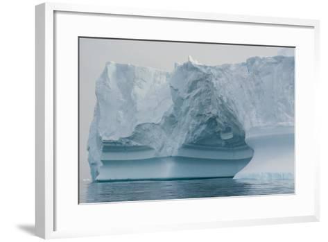 Antarctica. Charlotte Bay. Iceberg-Inger Hogstrom-Framed Art Print