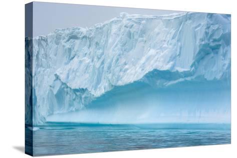 Antarctica. Charlotte Bay. Iceberg-Inger Hogstrom-Stretched Canvas Print