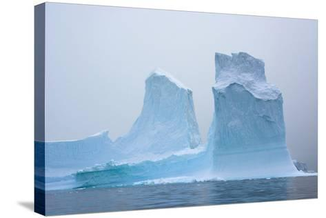 Antarctica. Charlotte Bay. Iceberg-Inger Hogstrom-Stretched Canvas Print