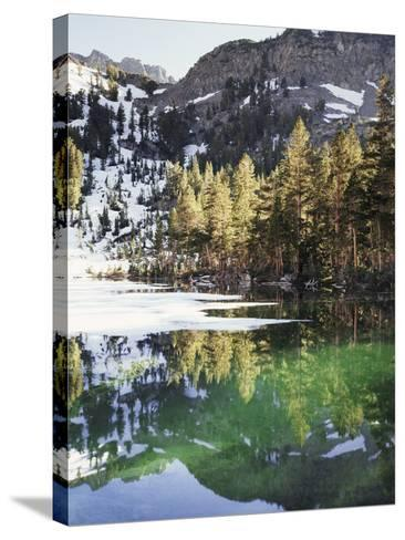 California, Inyo Nf, Emerald Lake in the Mammoth Lakes Basin-Christopher Talbot Frank-Stretched Canvas Print