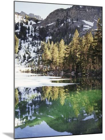 California, Inyo Nf, Emerald Lake in the Mammoth Lakes Basin-Christopher Talbot Frank-Mounted Photographic Print