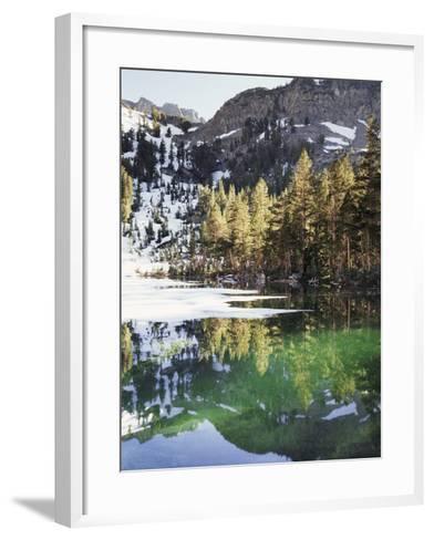 California, Inyo Nf, Emerald Lake in the Mammoth Lakes Basin-Christopher Talbot Frank-Framed Art Print