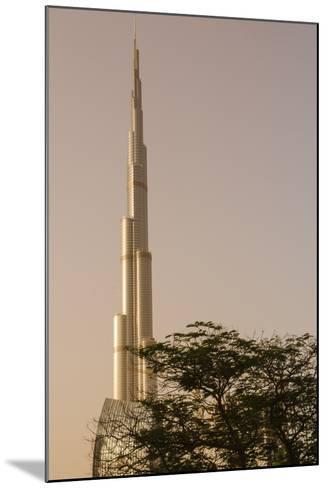 Burj Khalifa the Tallest Building in the World Downtown Dubai, Uae-Michael DeFreitas-Mounted Photographic Print