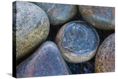 Africa, South Africa, Buckballbaai. Cluster of Rounded Rocks-Jaynes Gallery-Stretched Canvas Print