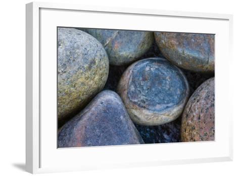 Africa, South Africa, Buckballbaai. Cluster of Rounded Rocks-Jaynes Gallery-Framed Art Print