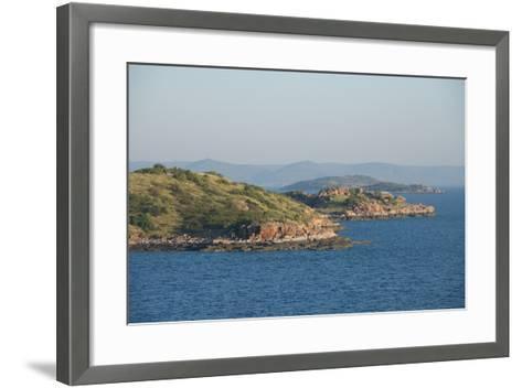 Australia, Kimberly Coast. Indian Ocean View of Kimberly, York Bay-Cindy Miller Hopkins-Framed Art Print
