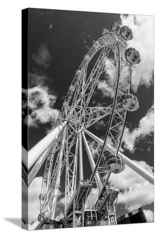 Australia, Melbourne, Docklands, Southern Star Observation Wheel-Walter Bibikow-Stretched Canvas Print
