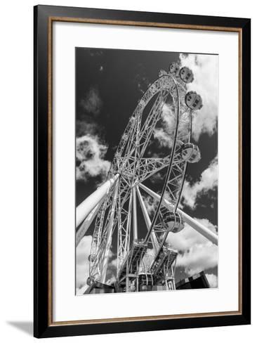 Australia, Melbourne, Docklands, Southern Star Observation Wheel-Walter Bibikow-Framed Art Print