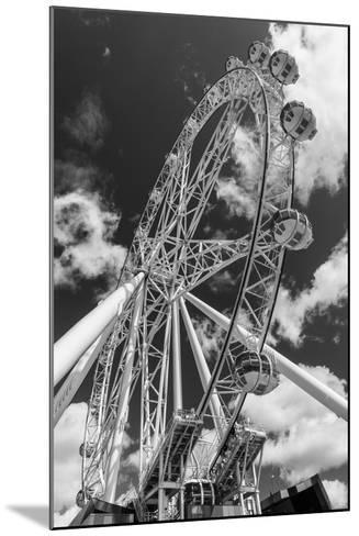 Australia, Melbourne, Docklands, Southern Star Observation Wheel-Walter Bibikow-Mounted Photographic Print