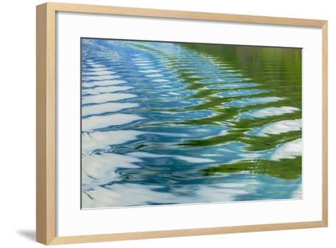 Alaska, Glacier Bay National Park. Boat Wake in Dundas Bay-Jaynes Gallery-Framed Art Print