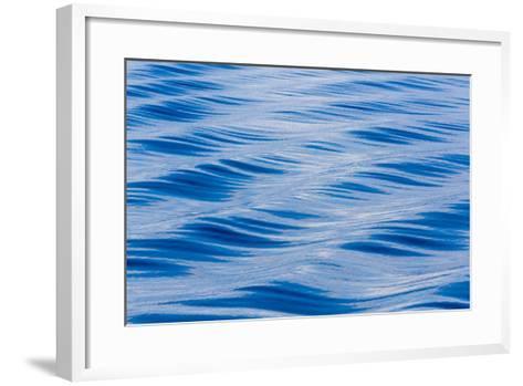 Alaska. Water Abstract-Jaynes Gallery-Framed Art Print