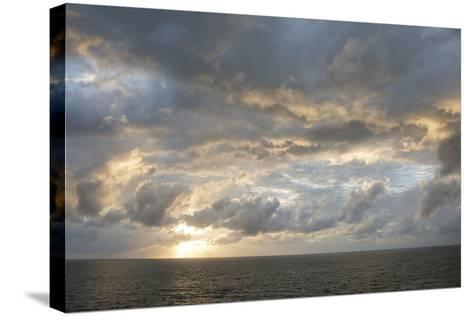 Australia, Queensland, Port Douglas. Sunrise over the Coral Sea-Cindy Miller Hopkins-Stretched Canvas Print