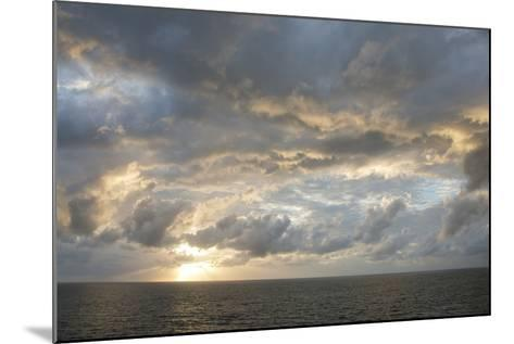 Australia, Queensland, Port Douglas. Sunrise over the Coral Sea-Cindy Miller Hopkins-Mounted Photographic Print
