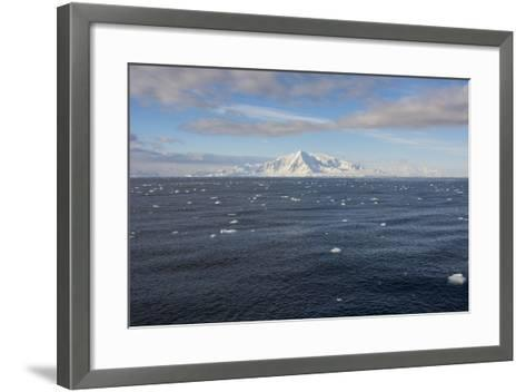 Antarctica. South of the Antarctic Circle-Inger Hogstrom-Framed Art Print