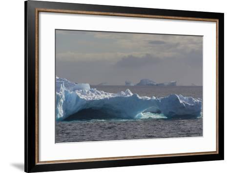 Antarctica. South of the Antarctic Circle. Iceberg-Inger Hogstrom-Framed Art Print