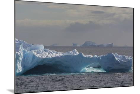 Antarctica. South of the Antarctic Circle. Iceberg-Inger Hogstrom-Mounted Photographic Print