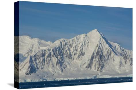 Antarctica. South of the Antarctic Circle. Near Adelaide Island-Inger Hogstrom-Stretched Canvas Print