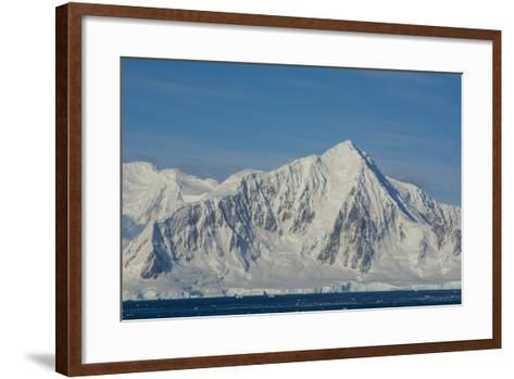 Antarctica. South of the Antarctic Circle. Near Adelaide Island-Inger Hogstrom-Framed Art Print