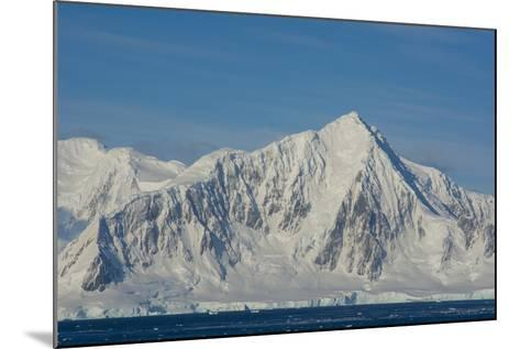 Antarctica. South of the Antarctic Circle. Near Adelaide Island-Inger Hogstrom-Mounted Photographic Print