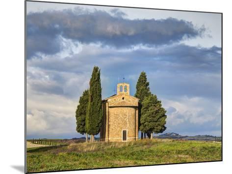 Europe, Italy, Tuscany, San Quirico Dorcia. the Vitaleta Chapel-Julie Eggers-Mounted Photographic Print