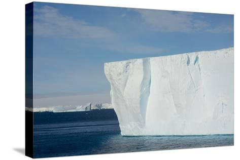 Antarctica. Antarctic Sound. Giant Tabular Iceberg-Inger Hogstrom-Stretched Canvas Print