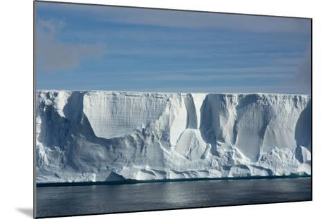 Antarctica. Antarctic Sound. Giant Tabular Iceberg-Inger Hogstrom-Mounted Photographic Print