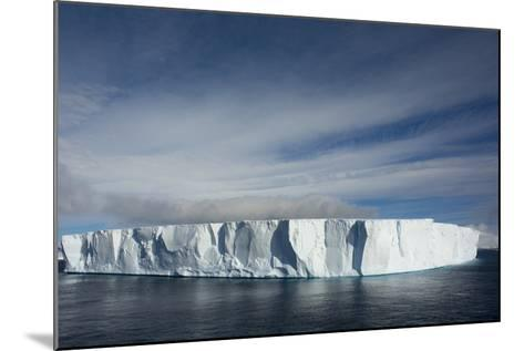 Antarctica. Antarctic Sound. Giant Tabular Iceberg-Inger Hogstrom-Mounted Photographic Print