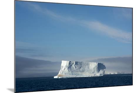 Antarctica. Antarctic Sound. Tabular Iceberg-Inger Hogstrom-Mounted Photographic Print
