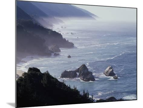 California, Big Sur Coast, Sea Stacks Along the Central Coast-Christopher Talbot Frank-Mounted Photographic Print