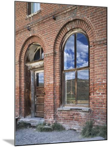 California, Bodie State Historic Park, Reflections in a Window-Christopher Talbot Frank-Mounted Photographic Print