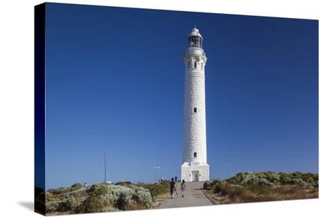 Southwest Australia, Cape Leeuwin, Cape Leeuwin Lighthouse-Walter Bibikow-Stretched Canvas Print