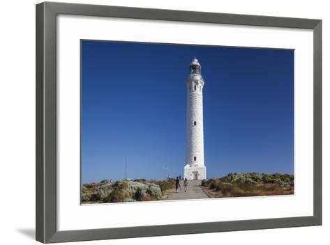 Southwest Australia, Cape Leeuwin, Cape Leeuwin Lighthouse-Walter Bibikow-Framed Art Print