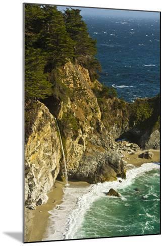 Mcway Falls, Julia Pfeiffer Burns State Park, Big Sur, California, USA-Michel Hersen-Mounted Photographic Print