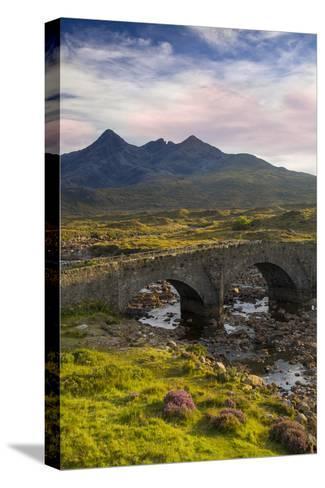 Stone Bridge over River Slichagan, Slichagan, Isle of Skye, Scotland-Brian Jannsen-Stretched Canvas Print
