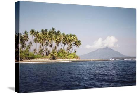 Indonesia, Tobelo, View of Beach and Island-Tony Berg-Stretched Canvas Print