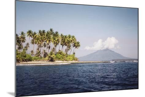 Indonesia, Tobelo, View of Beach and Island-Tony Berg-Mounted Photographic Print