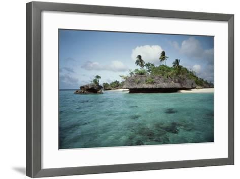 Indonesia, View of Indonesian Island-Tony Berg-Framed Art Print