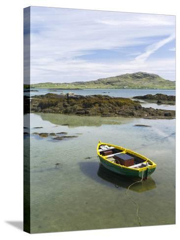 Landscape on the South Uist Island. Scotland-Martin Zwick-Stretched Canvas Print
