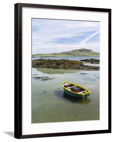 Landscape on the South Uist Island. Scotland-Martin Zwick-Framed Art Print