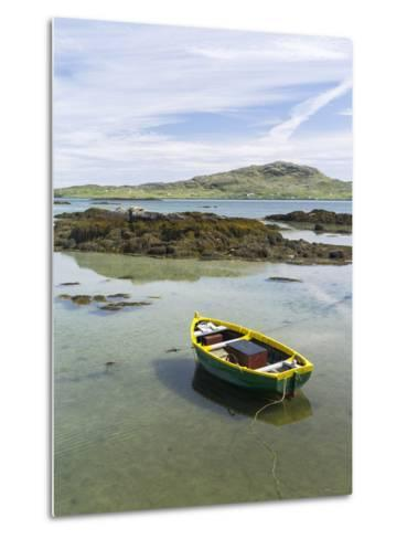 Landscape on the South Uist Island. Scotland-Martin Zwick-Metal Print