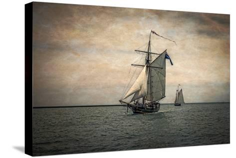 Tall Ships Festival, Digitally Altered-Rona Schwarz-Stretched Canvas Print