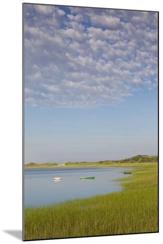 Massachusetts, Cape Cod, Wellfleet, View of the Gut by Great Island-Walter Bibikow-Mounted Photographic Print
