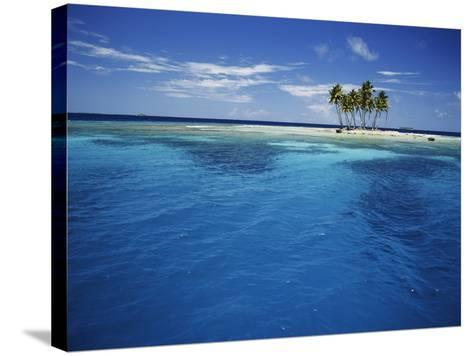 Micronesia, Tonowas, View of Idyllic Tropical Dublon Island-Stuart Westmorland-Stretched Canvas Print