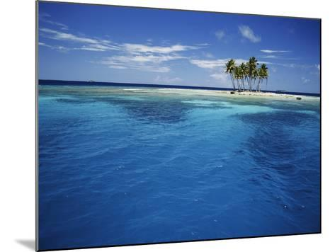 Micronesia, Tonowas, View of Idyllic Tropical Dublon Island-Stuart Westmorland-Mounted Photographic Print