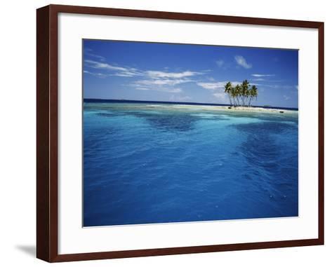 Micronesia, Tonowas, View of Idyllic Tropical Dublon Island-Stuart Westmorland-Framed Art Print