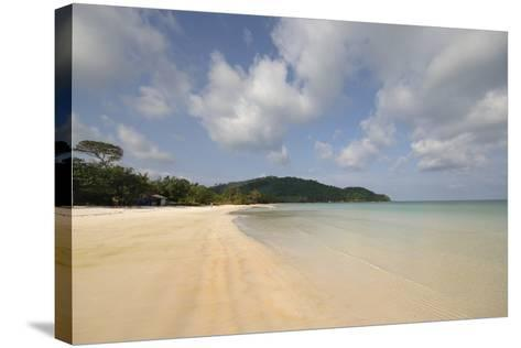 Vietnam. Beautiful Sand at Sao Beach, Phu Quoc, Kien Giang Province-Kevin Oke-Stretched Canvas Print